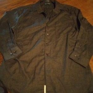 Stafford Button down  shirt, Black shirt